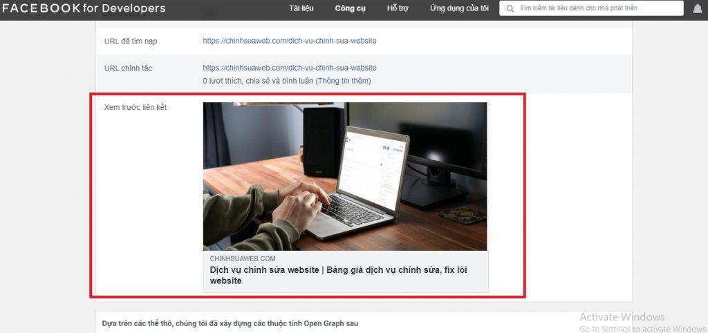 Thu thập dữ liệu chia sẻ link facebook, Zalo
