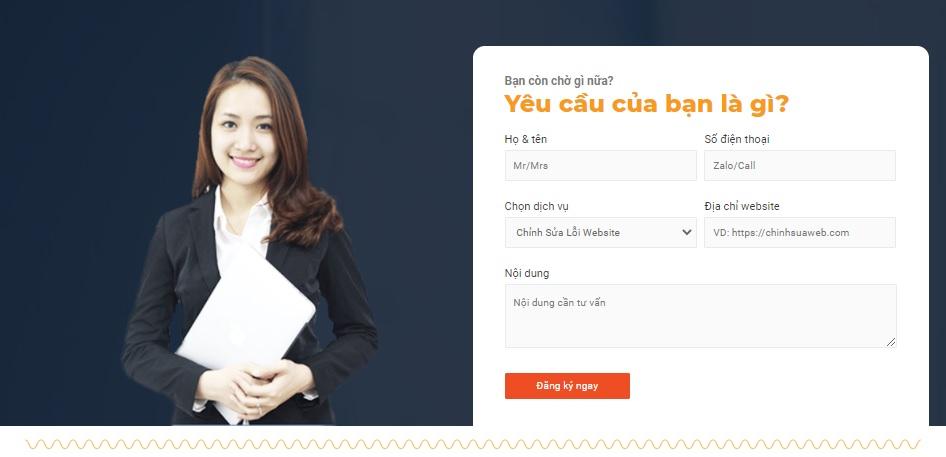 Liên hệ chinhsuaweb.com để được tư vấn, hỗ trợ